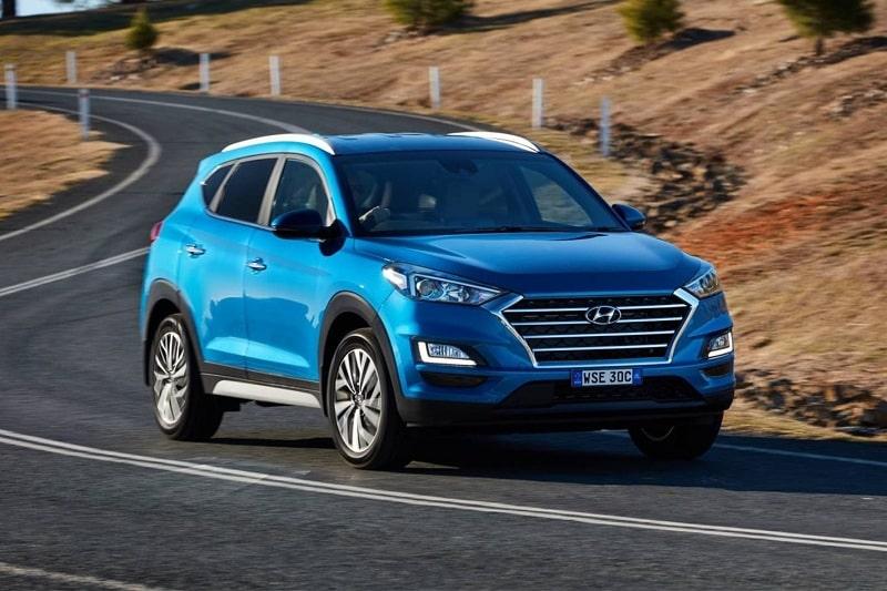 Hyundai Tucson nổi bật với vẻ ngoài đẹp mắt