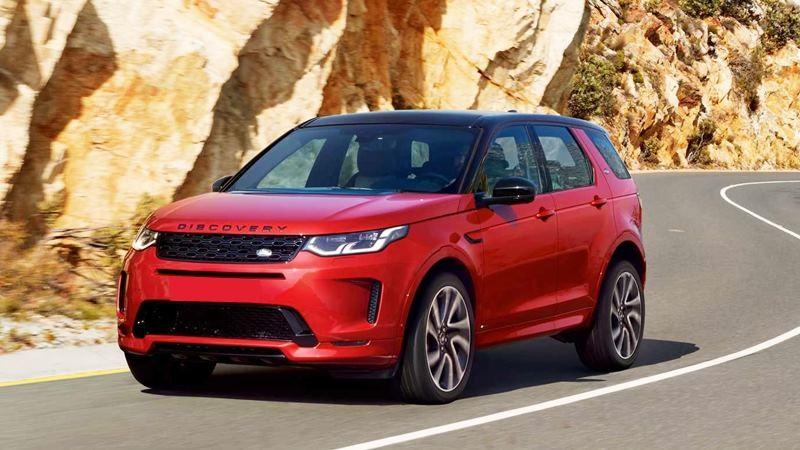 Land Rover Discovery Sport với thiết kế ấn tượng