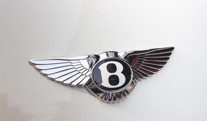 Logo xe Bentley thiết kế bắt mắt