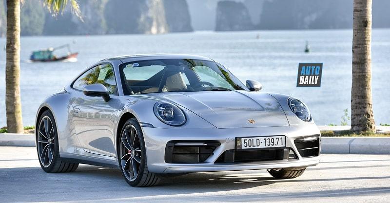 Mẫu xe Porsche 911 Carrera