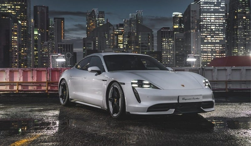 Mẫu xe thuộc dòng Porsche Taycan