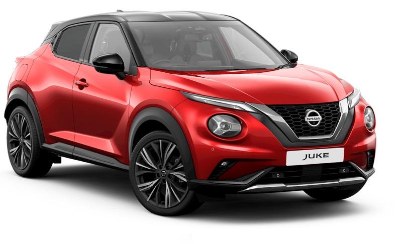 Nissan Juke màu đỏ