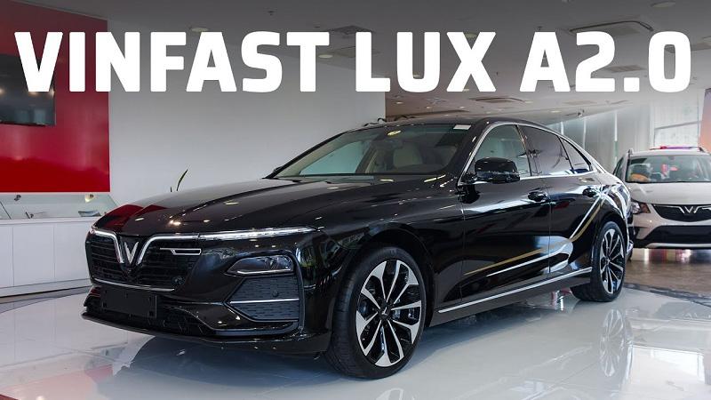 Sang trọng và tinh tế hơn với Vinfast Lux A2.0
