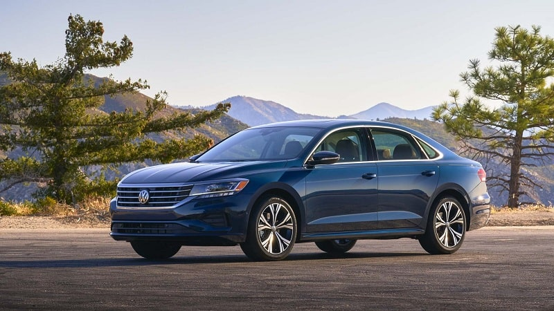 Volkswagen Passat nhập khẩu nguyên chiếc thiết kế sang trọng
