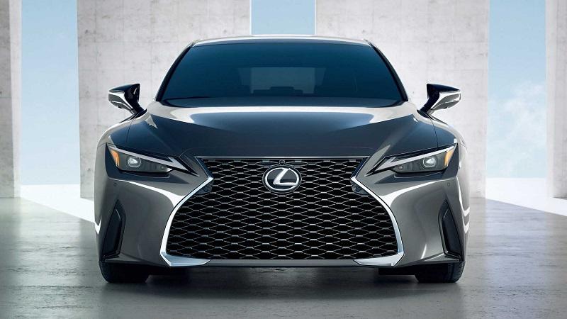 Logo Lexus có hình chữ L cách điệu trong hình bầu dục