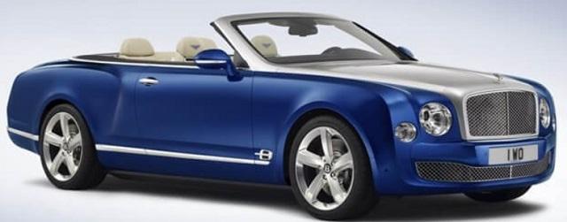 Bentley Mulsanne Grand Convertible Concept 2014