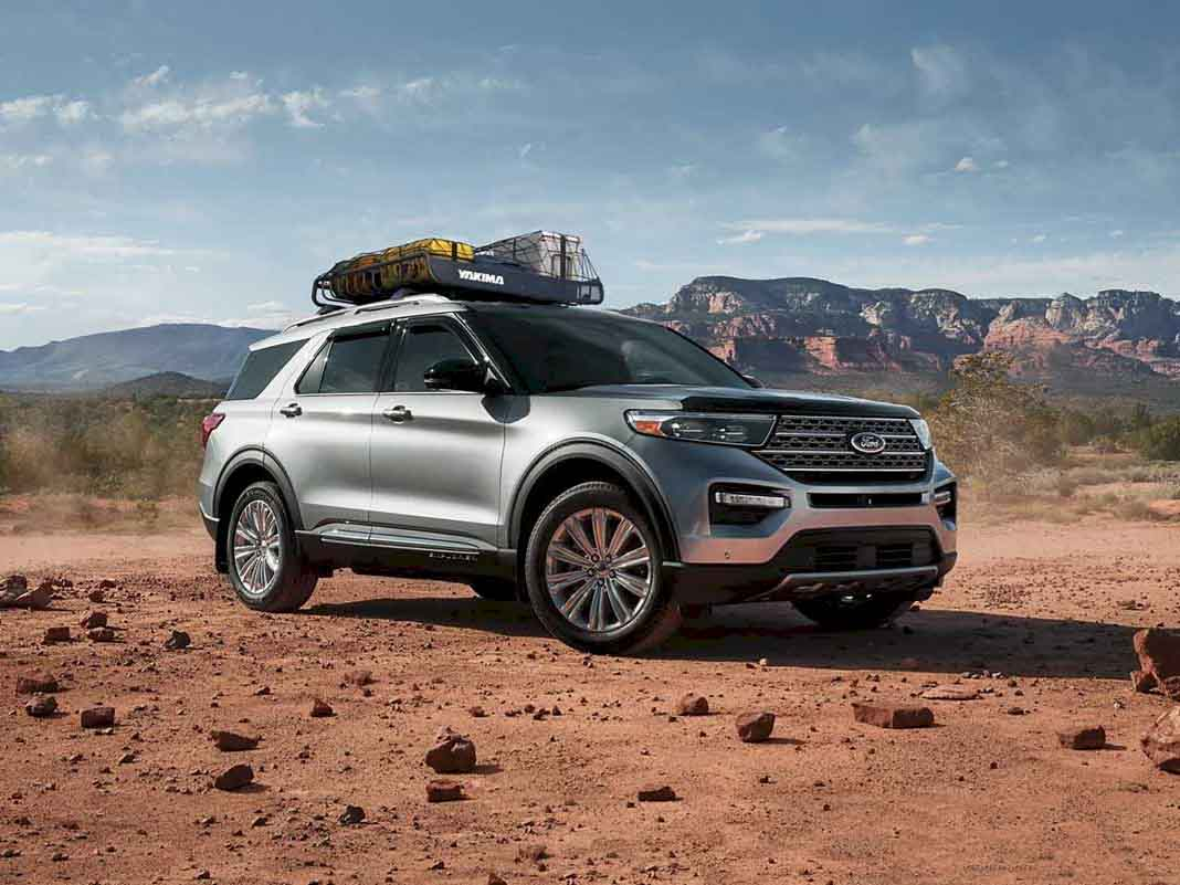 Ford Explorer 2021 - SUV nhập khẩu nguyên chiếc từ Mỹ