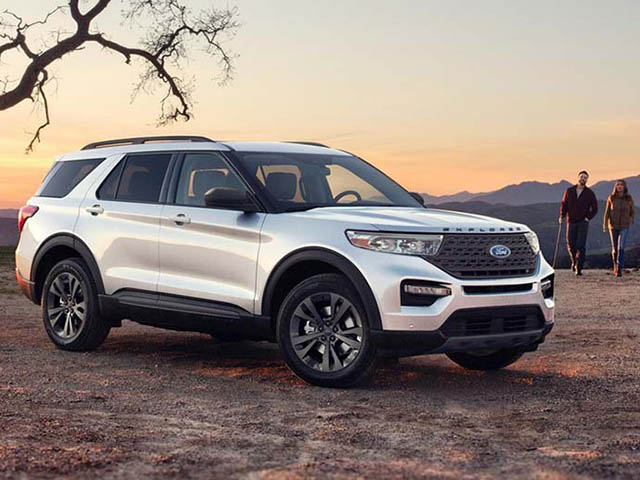 Ford Explorer 2021 - thế hệ mới nhất