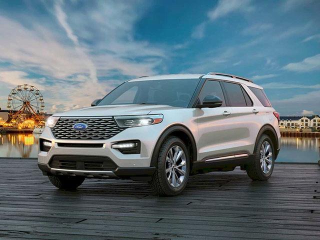 Ford Explorer - SUV cao cấp mang phong cách Mỹ
