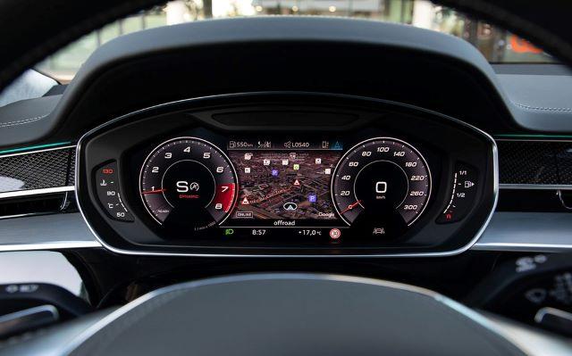 Hệ thống an toàn của S8 được thiết kế hiệu quả, đảm bảo tuyệt đối cho người lái