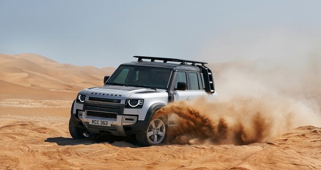 Land Rover Defender có mức giá cao