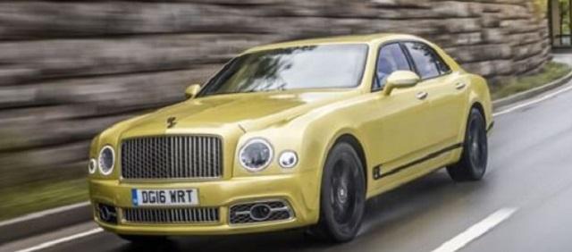 Phiên bản Bentley Mulsanne Speed (2015 - 2020)