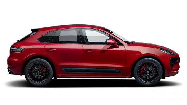 Porsche Macan Turbo đỏ