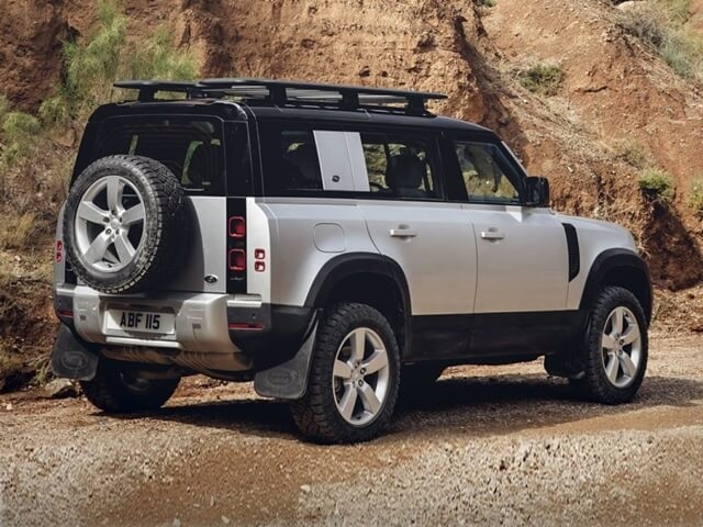 Đuôi xe Land Rover Defender