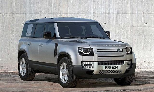Land Rover Defender sở hữu đầu xe ấn tượng khác biệt