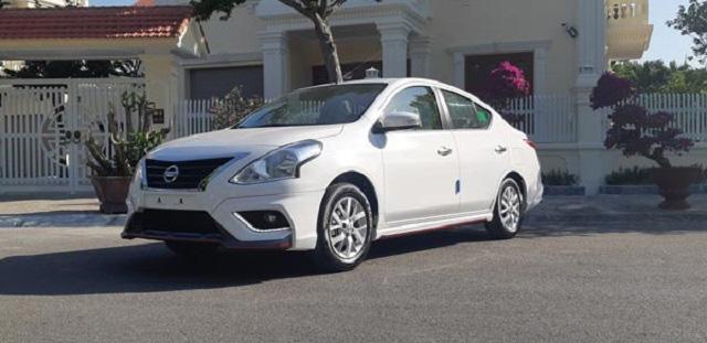 Mức giá của dòng xe Nissan Sunny XL trên thị trường